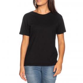 T-shirt Pyrex con stampa con paillettes sulla schiena da donna rif. 20EPC41070