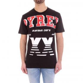 T-shirt Pyrex girocollo con maxi stampa sul petto da uomo rif. 20EPC40953