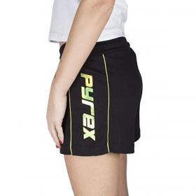 Pantaloncini Shorts Pyrex con logo specchiato fluo da donna rif. 20EPB40828