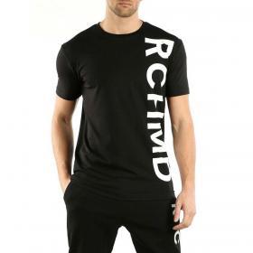 T-shirt John Richmond Laroches con maxi stampa verticale da uomo rif. UMA19010TS