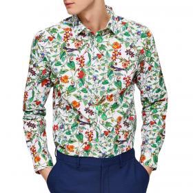 Camicia Selected slim fit fantasia floreale da uomo rif. 16071995