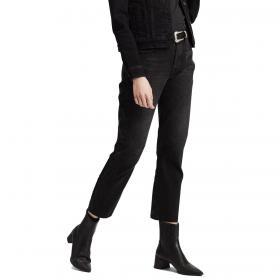 Jeans Levi's 501 Original Crop Jeans a vita alta da donna rif. 36200-0085