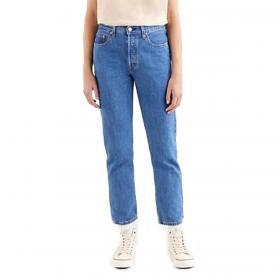 Jeans Levi's 501 Original Crop Jeans a vita alta da donna rif. 36200-0142