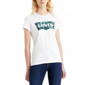 T-shirt Levi' s The Perfect Batwing Tee con stampa da donna rif. 17369-1043