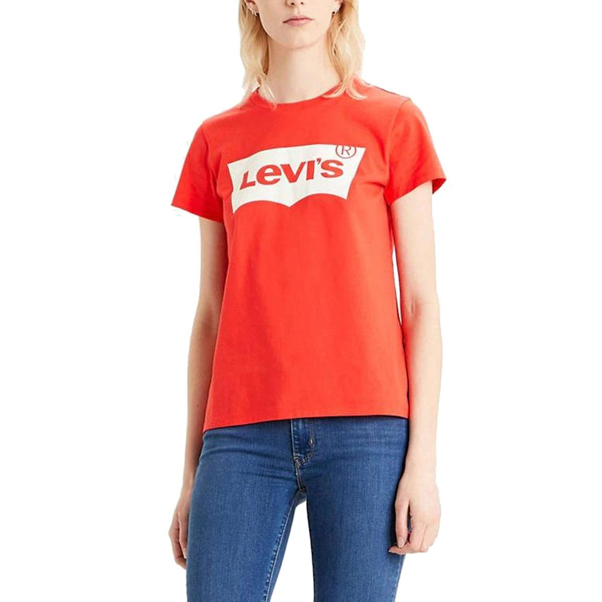 T-shirt Levi' s The Perfect Batwing Tee con stampa da donna rif. 17369-1082