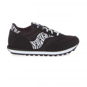 Scarpe Sneakers Saucony Jazz Original Zebra/nero da bambina rif. SK163332