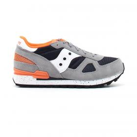 Scarpe Sneakers Saucony Shadow Original Grey/Orange da bambino rif. SK263865