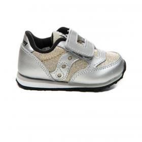 Scarpe Sneakers Saucony Baby Jazz HL Silver/sparkle da bambina rif. SL163387