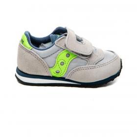 Scarpe Sneakers Saucony Baby Jazz HL grey/blue da bambino rif. SL263373