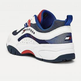 Scarpe Sneakers Tommy Jeans Heritage con suola spessa da uomo rif. EM0EM00482