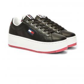 Scarpe Sneakers Tommy Jeans Iconic con suola alta da donna rif. EN0EN00943
