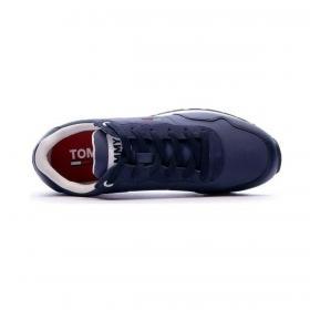 Scarpe Sneakers Tommy Jeans running con inserti a contrasto da uomo rif. EM0EM00578