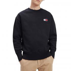 Felpa Tommy Jeans fit comodo in maglia pesante da uomo rif. DM0DM06592