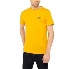 T-shirt Tommy Jeans slim fit in cotone biologico da uomo rif. DM0DM07472