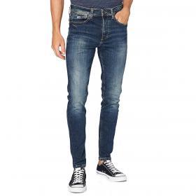 Jeans Tommy Jeans 5 tasche in denim blu scuro da uomo rif. DM0DM08247