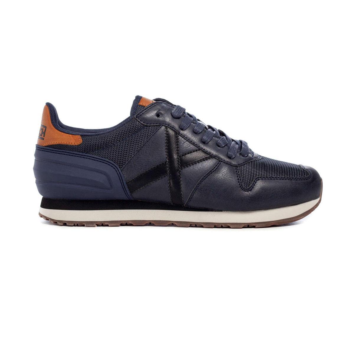 Scarpe Sneakers Munich Massana 383 in pelle da uomo rif. 8620383