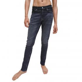 Jeans Calvin Klein Jeans slim affusolati in denim black da uomo rif. J30J315450