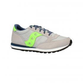 Scarpe Sneakers Saucony Jazz O Grey/Green/Blue da bambino rif. SK263321