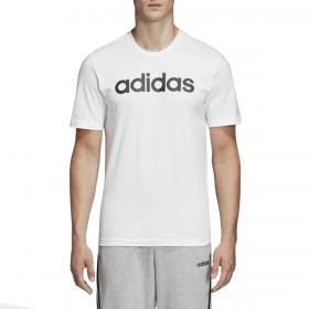 T-shirt Adidas Essentials Linear Logo con stampa da uomo rif. DQ3056