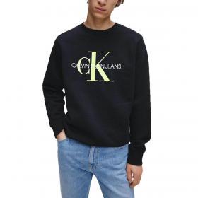 Felpa Calvin Klein Jeans con logo monogramma da uomo rif. J30J315595