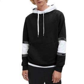 Felpa Calvin Klein Jeans con fettuccia con logo bicolore da uomo rif. J30J316052