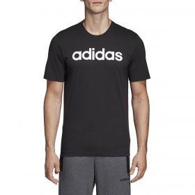 T-shirt Adidas Essentials Linear Logo con stampa da uomo rif. DU0404