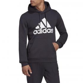 Felpa Adidas Badge of Sport con cappuccio e stampa da uomo rif. GC7339