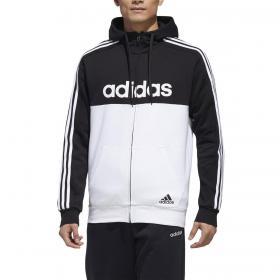 Felpa Adidas Essentials Colorblock con zip e cappuccio da uomo rif. GD5503
