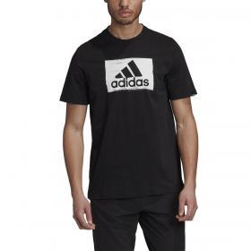 T-shirt Adidas Brushstroke girocollo con stampa da uomo rif. GD5893