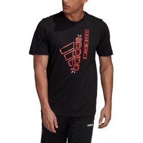 T-shirt Adidas girocollo con stampa sul petto da uomo rif. GD5903