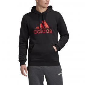 Felpa Adidas Fleece con cappuccio e stampa da uomo rif. GD5940