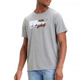 T-shirt Levi's Housemark Graphic Tee con stampa da uomo rif. 22489-0298