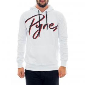 Felpa Pyrex con cappuccio e stampa serigrafica da uomo rif. 20IPB41233