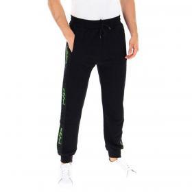 Pantaloni Pyrex in tuta con bande laterali logate fluo da uomo rif. 20IPB41302