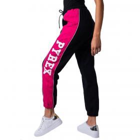 Pantaloni Pyrex in tuta con bande laterali logate da donna rif. 20IPB41326