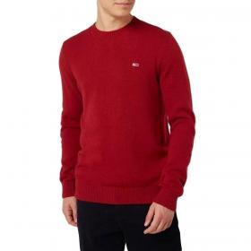 Pullover Tommy Jeans in cotone misto lana da uomo rif. DM0DM08811