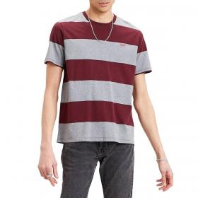 T-shirt Levi's Original Housemark Tee a righe con mini logo da uomo rif. 56605-0057
