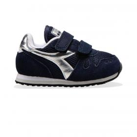 Scarpe Sneakers Diadora Simple Run TD Girl da bambina rif. 101.175780 01