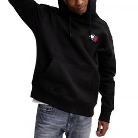 Felpa Tommy Jeans con cappuccio e logo distintivo da uomo rif. DM0DM06593