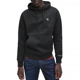 Felpa Calvin Klein con cappuccio in pile misto cotone da uomo rif. J30J315713