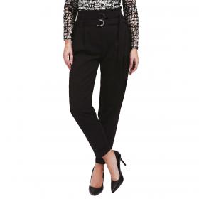 Pantaloni Guess vestibilità cargo a vita alta con cintura da donna rif. W0BB14WD2V0