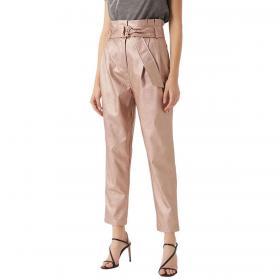 Pantaloni Guess in ecopelle tessuto elegante da donna rif. W0YB57WD2S0
