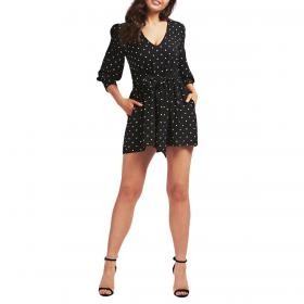 Tutina vestitino Guess con stampa pois all over da donna rif. W0YK0LWD2O0