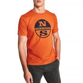 T-shirt North Sails in jersey di cotone con stampa da uomo rif. 692531 000