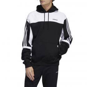 Felpa Adidas Hoodie Classics con cappuccio e logo da uomo rif. GD2077