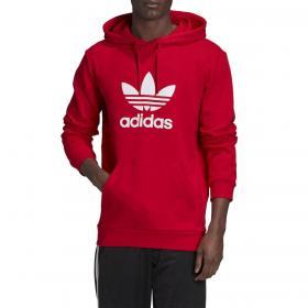Felpa Adidas Hoodie Trefoil con cappuccio e stampa da uomo rif. GD9924