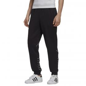 Pantaloni Adidas Big Trefoil Outline sportivi con maxi stampa da uomo rif. GF0223