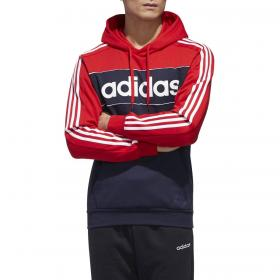 Felpa Adidas Essentials con cappuccio e stampa da uomo rif. GL7465
