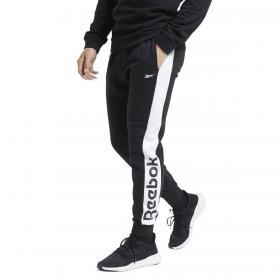 Pantaloni Jogger Reebok Training Essentials Linear con logo da uomo rif. FU3220