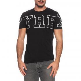 T-shirt Pyrex girocollo con maxi stampa sul petto da uomo rif. 20IPB41254